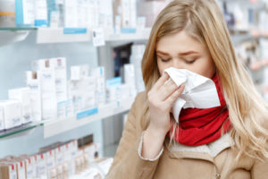 Nainen ja influenssa